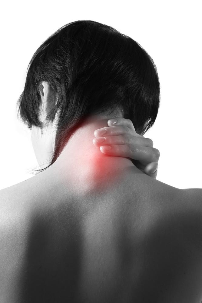 knöl i nacken ryggraden